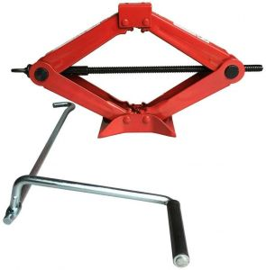1.5t Lifting Capacity Manual Car Scissor Jack Auto Repair Tool