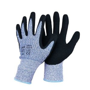 13 Guage Hppe Fibre Gloves with Nitrile Coated L-D133