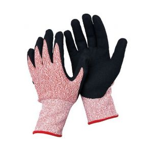 13 Guage Hppe Fibre Gloves with Nitrile Coated N-D142