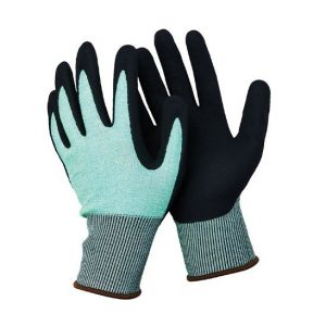 13 Guage Hppe Fibre Gloves with Nitrile Coated N-D143