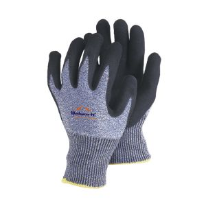 13 Guage Hppe Fibre Knitted Safety Gloves with Sandy Nitrile Coated Ce En388 L-D134