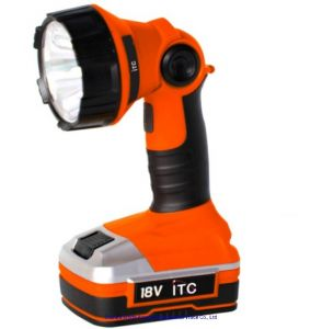 18V Max Power Lithium-Ion Battery Cordless Torch -Working Light