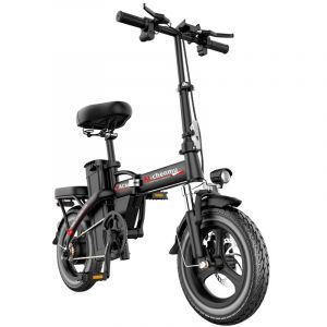 48V Electric Bicycle for Driving Folding Car The New National Standard 3c Power Electric Vehicle Ultralight Portable Lithium 350W Battery Walking Battery Car