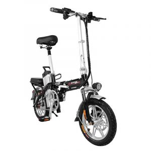 National Standard 3c Certification Electric Folding Car Ultralight Portable Bicycle Small Lithium Battery Electric Car Electric Bicycle