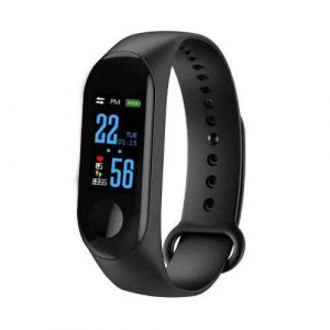 Screen Fitness Activity Tracker Band M3 Smart Bracelet with Heart Rate Monitor