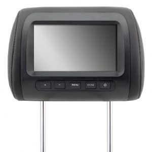 Car Monitor  Black Color 7 Inch LCD Digital Screen Car Headrest Monitor Adjustable Distance
