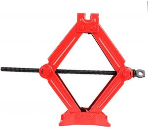 1T Lifting Capacity Manual Car Scissor Jack Auto Repair Tool