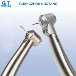 4 Points Anti Retraction LED Mini Head Dental Air Turbine High Speed Handpiece for Kids