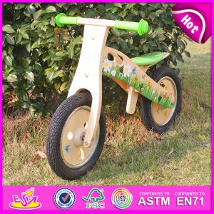 2015 Latest Wooden Balance Bike for Kids, Wooden Toy Balance Bike for Children, Comfortable Safe Balance Walking Bike Toy W16c114