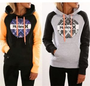 Autumn and Winter New Designed Printed Hooded Sweater with Pocket (80022)