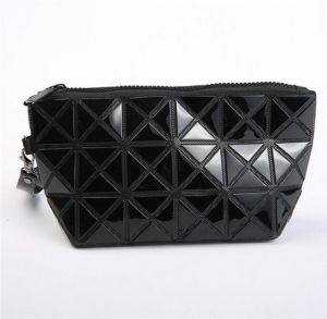 New Cosmetic Bag Creative PU Triangle Dumpling Bag