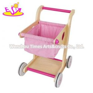 Best Design Wooden Baby Shopping Cart Toy for Wholesale W16e150b