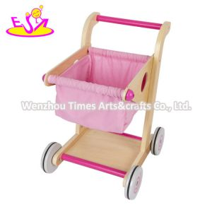 2020 Best Design Wooden Baby Shopping Cart Toy for Wholesale W16e150b