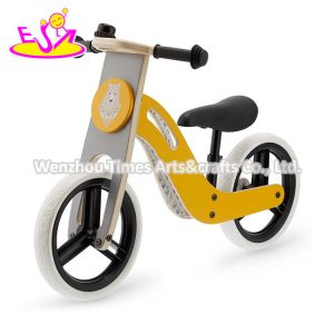 Yellow Color 2020 High Quality Early Learning Mini Wooden Balance Bike for Children W16c283