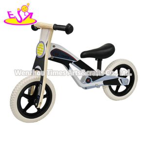 Grey Color 2020 High Quality Pink Wooden Baby Balance Bike with Low Orders W16c292