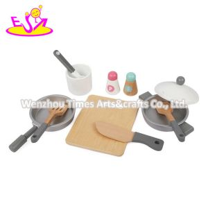 2020 High Quality Wooden Kids Kitchen Set for Pretend Play W10c499
