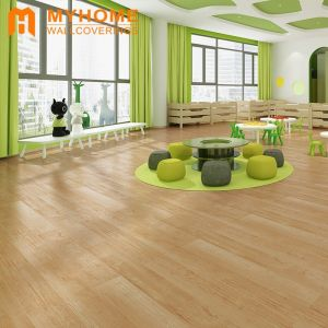 2020 Hot Sale Design Plastic Wood Floor Sticker Flooring for Home Decoration
