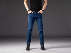 Hot Sale New Youth Fashion Strech Skinny Denim Jeans for Men