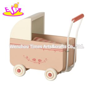 2020 New Arrival Preschool Wooden Baby Girl Walker with Customize W16e152