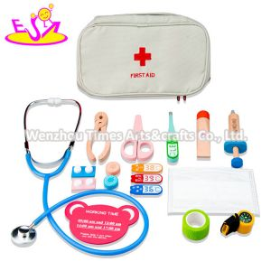 2020 New Arrived Pretend Wooden Toy Medical Kit for Kids W10d277