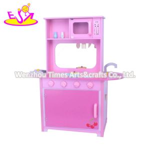 2020 New Released Double Sides Wooden Kitchen Toy for Children W10c577