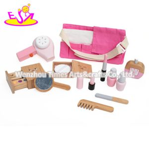 2020 New Released Pretend Play Wooden Toy Makeup Set for Kids W10d272