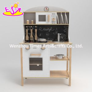2020 New Released Simulation Wooden Mini Kitchen Set Toy W10c546