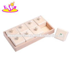 2020 Top Sale Educational Wooden Block Toys for Kids W12e045