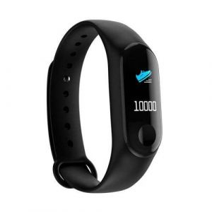 Black Color Global Version M3 Band Smart Wristband Activity Fitness Tracker Sport Bracelet for Android Ios