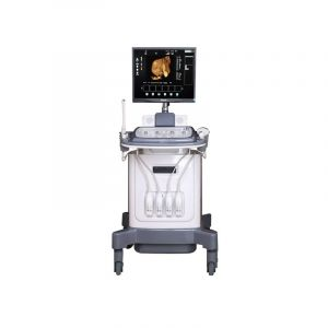 High Resolution Hospital Trolley Ultrasound Machine 3D 4D, Color Doppler Ultrasound with 4D Function