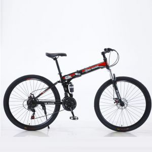 """RED Factory Wholesale 29 """"Adult Folding Mountain Bike Foreign Trade Disc Brake Variable Speed Cross-Country Double Shock Absorption Bike Cheap Hot Sell Bicycle"""