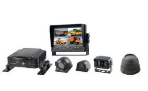 4CH HDD Car Mdvr Kit with Dual SD Card Supports 3/4G, GPS and Wi-Fi
