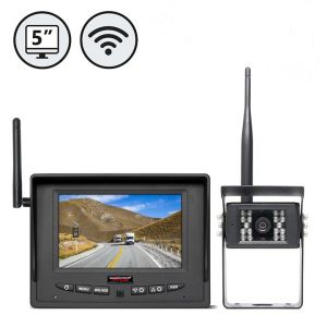"""5"""" High Quality Wireless Rear View Safety System"""
