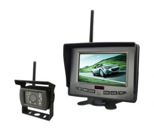 5 Inch Wireless Rear View System with Backup Night Vision Camera