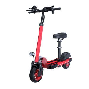 10-Inch 48V Electric Scooter Lithium Battery Folding Electric Scooter Mini Battery Car Factory Wholesale Price Cheap Electric Bike High Quality Electric Bicycle