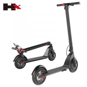Fashion Creative Removable 36V Lithium Battery Electric Scooter Manufacturer Sells Hot Style X7 Portable Folding 350W Powerfull High Quality Electric Scooter