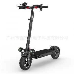 """Factory Hot Sells New 10 """"Electric Scooter Adult Bicycle off-Road Dual Drive Electric Bicycle Fashion High Quality Cheap Electric Bicycle"""
