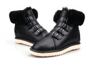 Black color Winter Classic Fashion Women′s Shoes and Boots Replicas Shoes Wholesale Market Outdoor Classic Fluff Sheepskin Boots Men′s Footwear Designer Bailey Bow Warm Me