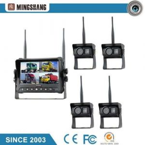 """7"""" Wireless Rear View System with IP69K Night Vision Backup Camera"""