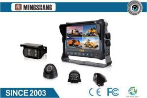 7inch 4CH HD 1080P Car Mobile DVR Monitor with GPS Tracking