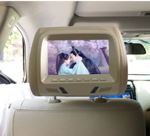 800*480 HD Resolution Gold Color  Headrest  Monitor, Pillow Monitor, Headrest Monitor