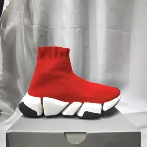 Red color Dad Shoes Generation Clunky Sneaker Dadshoes Platform 5cm High Casual Flat Shoes Dadshoes Designer Dad Fashion Luxury Womens Shoes-Triple Classic Warm Shoes
