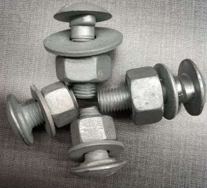 Aashto M180 High Strength Guardrail Crash Barrier Bolts and Nuts