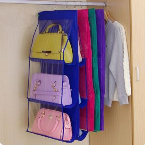 High Quality PVC and No-Woven Hanging Foldable Bags