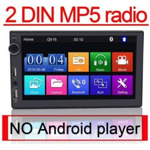 2DIN Car Radio Kit with 2USB Support Fast Mobile Charges