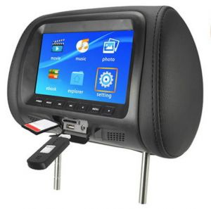 Auto TFT LCD Color Monitor, Headrest Screen, Car Audio& Video