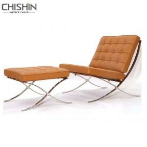 Barcelona Sofa Chair with Moulded Foam Swivel Recliner Chair Parts