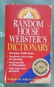 Collectible Pre- Owned Books -  Random House Webster's Dictionary: Fourth Edition, Revised and Updated Mass Market Paperback – Illustrated, June 26, 2001 by Random House  (Author)