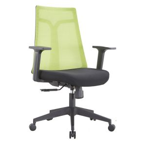 Breathable Mesh Office Green Color  Chair Computer Chair Household Staff Pulley Back Simple