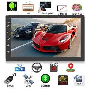 Auto Android Tablets 7inches with Android 9.1 Systems Music Player